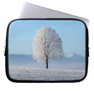Winter Tree Computer Sleeve
