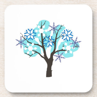 WINTER TREE COASTER