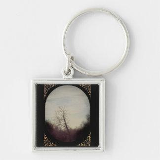 Winter Tree Keychain