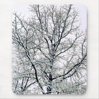 Winter Tree Mousepad mousepad