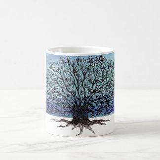 winter tree mugs