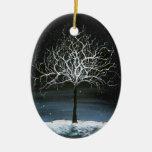 Winter Tree Ornament