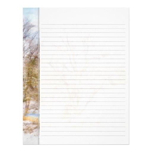 Tree writing paper