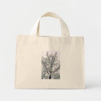 Winter Tree Tote Bag Mini Tote Bag