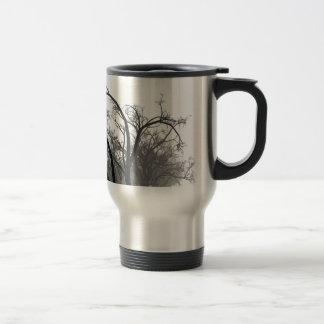 Winter Trees 15 Oz Stainless Steel Travel Mug