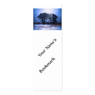 Winter Trees 1 Business Card