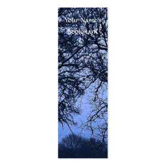 Winter Trees 1 Business Card Templates