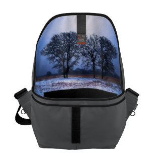 Winter Trees 1 Courier Bag