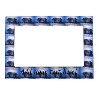 Winter Trees 1 Magnetic Picture Frame