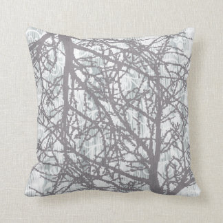 Winter Trees 3 Throw Pillow