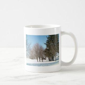 Winter Trees and Shrubs in Iowa Coffee Mug