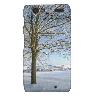 Winter Trees Droid RAZR Cover