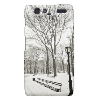 Winter Trees Covered in Snow Motorola Droid RAZR Cases