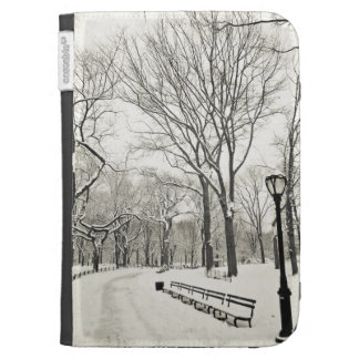 Winter Trees Covered in Snow Kindle Covers