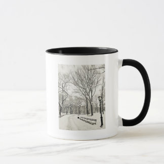Winter Trees Covered in Snow Mug