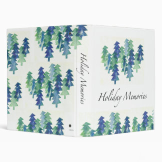 Winter Trees holiday binder