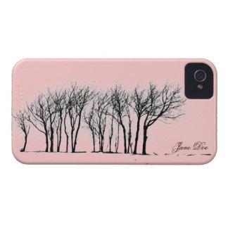 Winter trees iPhone 4 case