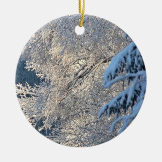 Winter Trees Ornament