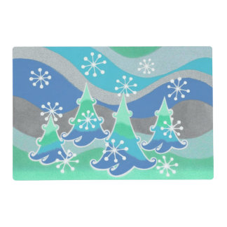 Winter Trees placemat