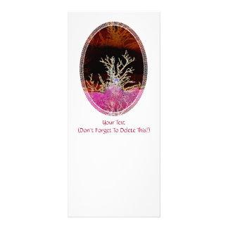 WINTER TREES RACK CARD