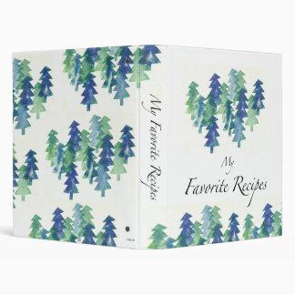Winter Trees recipe binder