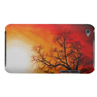 Winter Trees & Setting Sun Branches Nature Scene Barely There iPod Covers