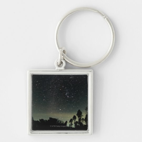 Winter Triangle of Stars Keychain