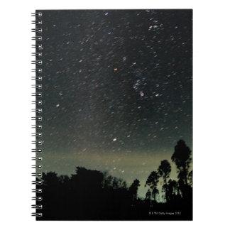 Winter Triangle of Stars Notebook