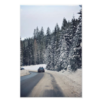 Winter trip photo art