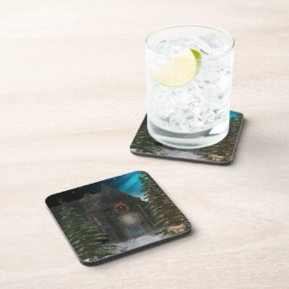 Winter Tunnel Beverage Coaster