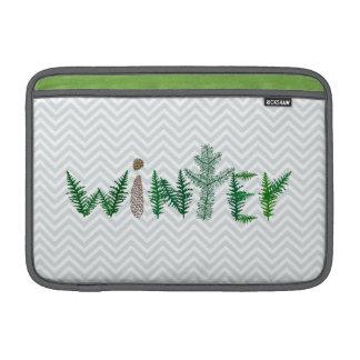 Winter Twigs MacBook Sleeve