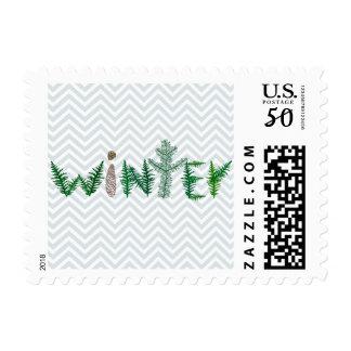 Winter Twigs Postage