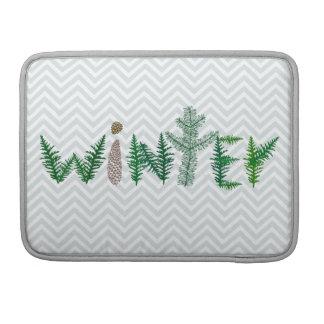 Winter Twigs Sleeve For MacBooks