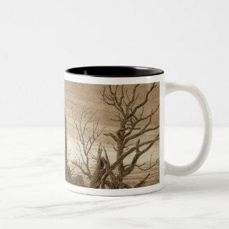 Winter Two-Tone Coffee Mug