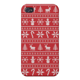 Winter Ugly Sweater iPhone 4/4S Covers