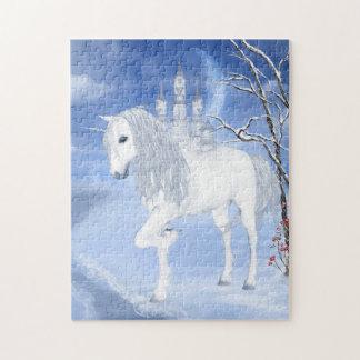 Winter Unicorn Puzzle