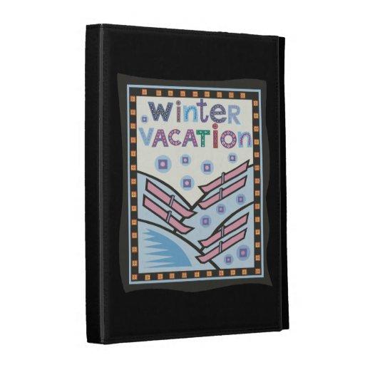 Winter Vacation iPad Cases