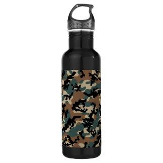 Winter Verdant Camo Aluminum Stainless Steel Water Bottle