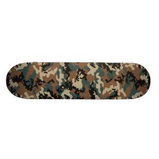 Winter Verdant Camo Skateboard