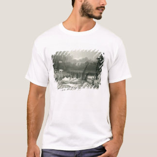 Winter View of Fort Franklin T-Shirt