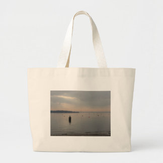 Winter view of Poole Harbour. Tote Bag