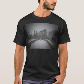 Winter View On Bow Bridge,Central Park, NYC T-Shirt