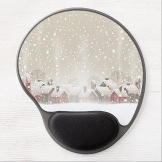 Winter Village Gel Mouse Pad