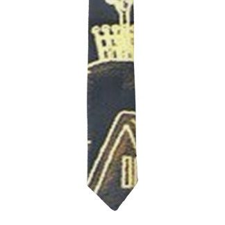 Winter Village Tie