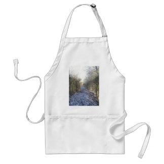 Winter walk apron