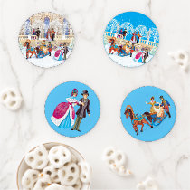 Winter walk coaster set