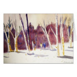 Winter Walk Greeting Cards
