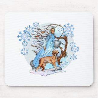 Winter Walk Mouse Pad