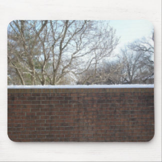 Winter Wall Mouse Pad