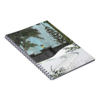 Winter Wall Notebook